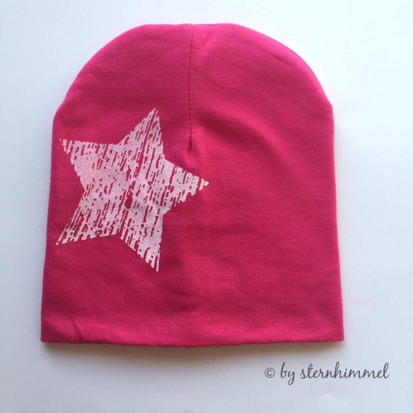 Babymütze pink