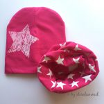 Babymütze und Schlauchschal pink