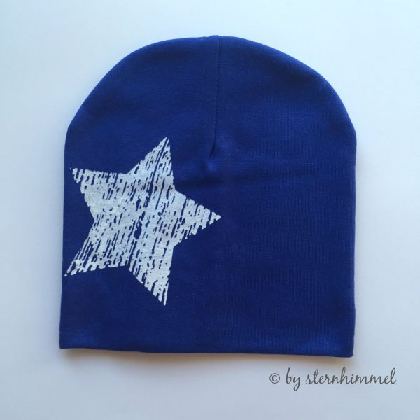 Babymütze blau