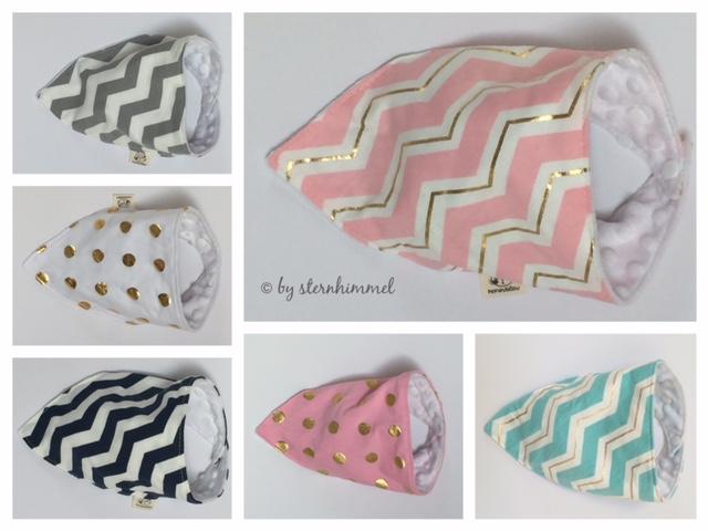 Baby Dreieckstücher in verschiedenen Designs