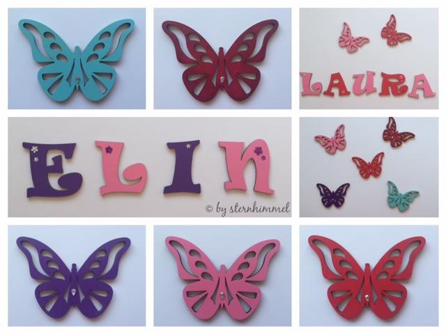 Holzbuchstaben Kinderzimmer zur Dekoration