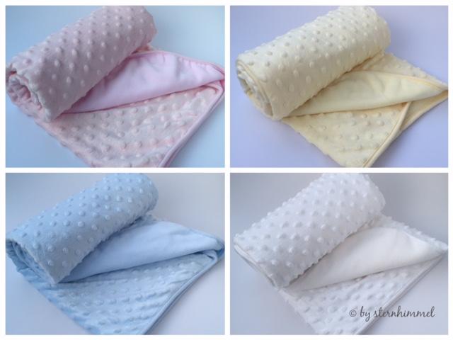 Baby Decke in verschiedenen Farben